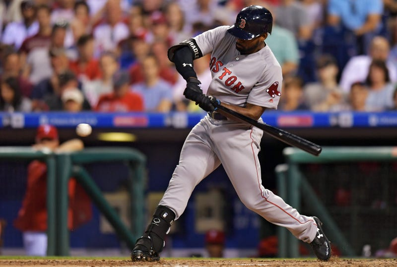 Jackie Bradley Jr. is a trade candidate this offseason.