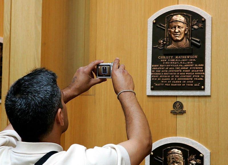 Christy Mathewson plaque at Baseball Hall of Fame
