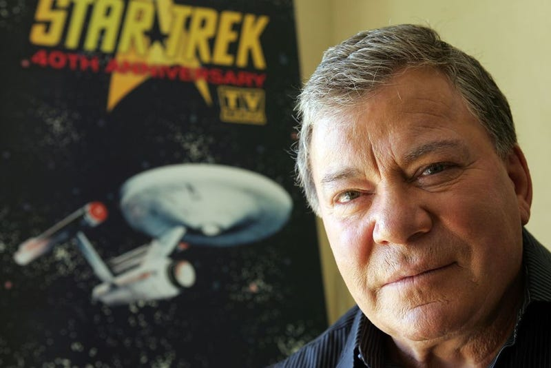 """Actor William Shatner promotes the """"Star Trek"""" 40th Anniversary on the TV Land network at the Four Seasons hotel August 9, 2006 in Los Angeles, California."""