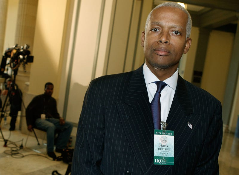 Congressman Hank Johnson Tells Rashad Richey Trump's Crimes Will Be Exposed