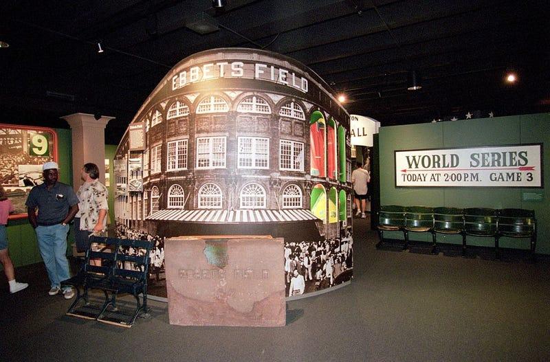 Ebbets Field display
