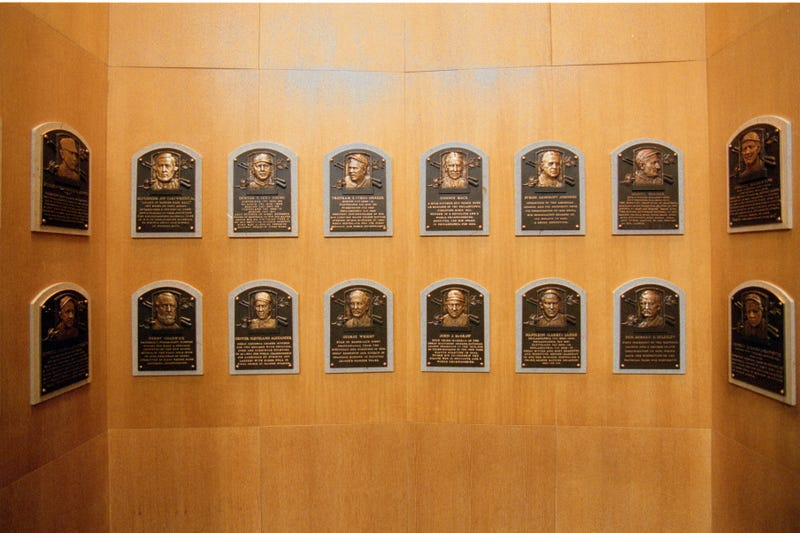 Baseball Hall of Fame Plaque Gallery