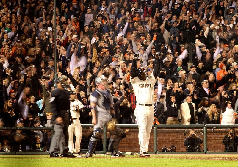 Barry Bonds' 756th home run