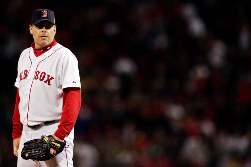 Curt Schilling won two of his three World Series titles with the Red Sox.