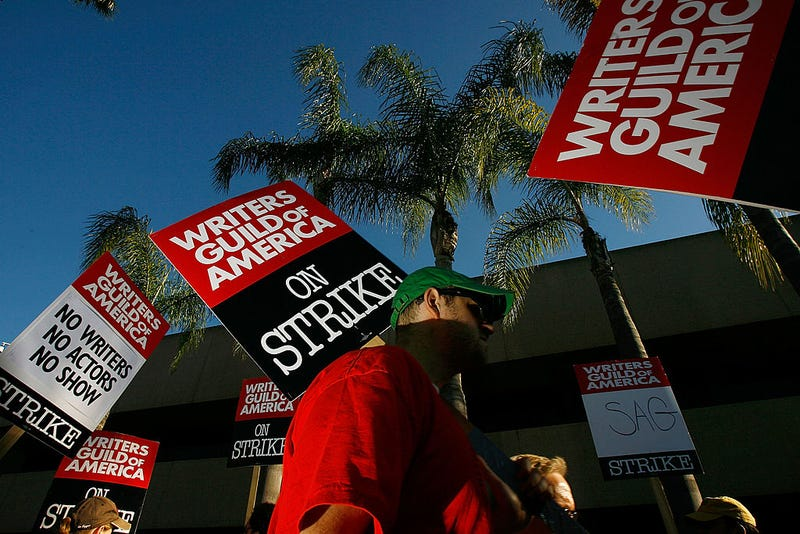 The 2008 Golden Globes were cancelled when members of the Screen Actors Guild refused to cross picket lines amid the Writers Guild strike.