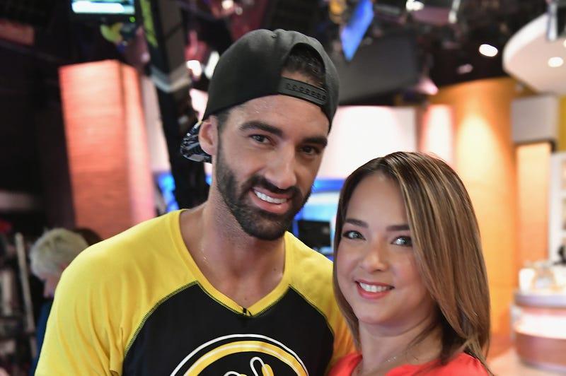 Toni Costa and Adamari Lopez