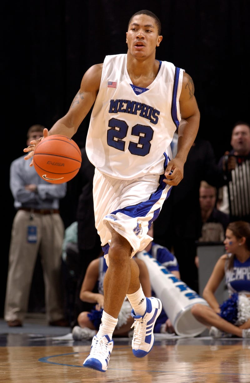 Derrick Rose nearly led Memphis to a national title in 2008