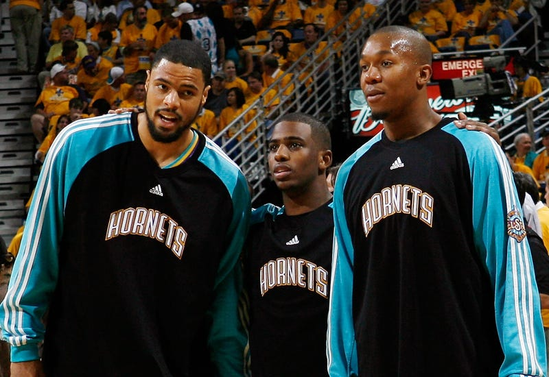 Tyson Chandler, Chris Paul and David West