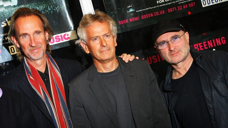 Genesis: Mike Rutherford, Phil Collins, and Tony Banks