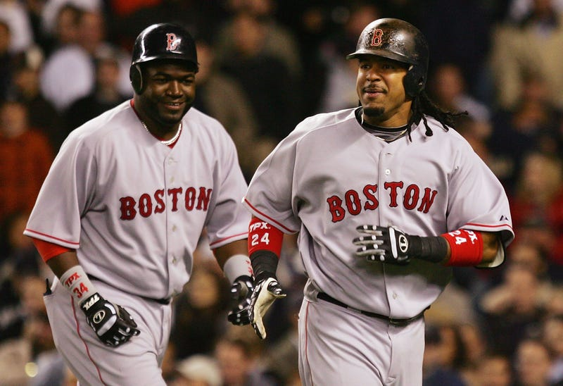 David Ortiz and Manny Ramirez
