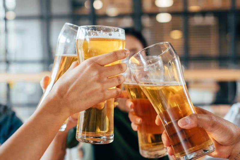 Beer!  Cheers!