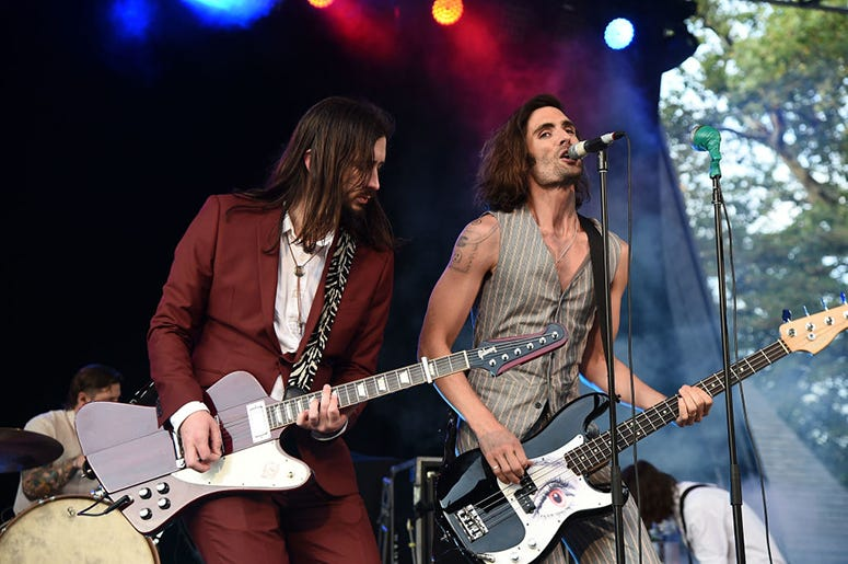 Nick Wheeler and Tyson Ritter of All American Rejects