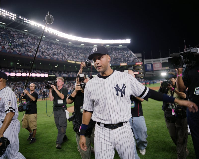 Derek Jeter spent his entire career with the Yankees.