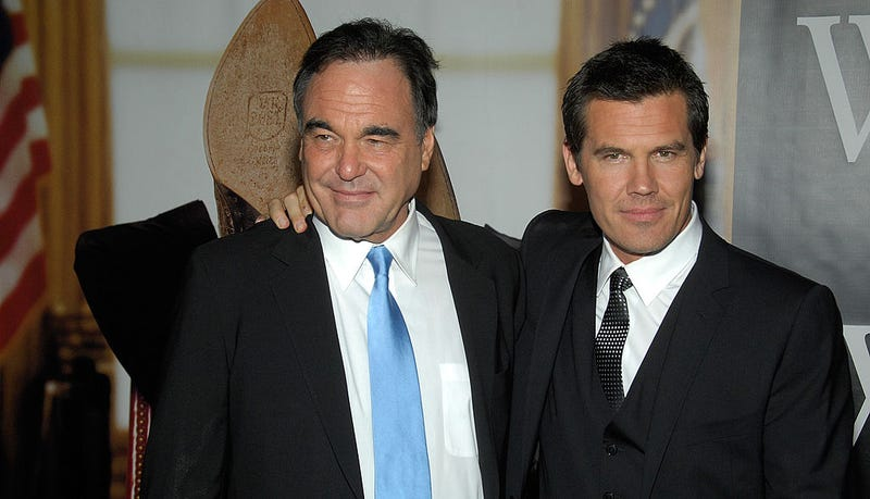 'W.' director Oliver Stone and star Josh Brolin