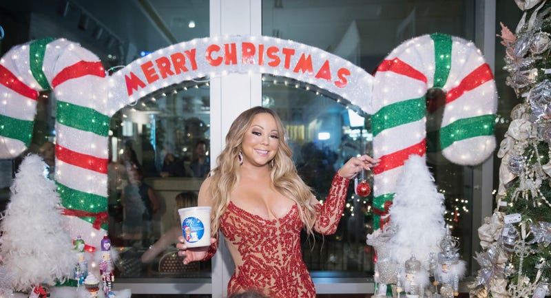 Mariah Carey Christmas Factory during the grand opening Of Sugar Factory American Brasserie on September 6, 2017 in Bellevue, Washington.