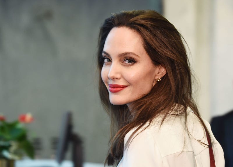 Actress and Special Envoy to the United Nations High Commissioner for Refugees Angelina Jolie visits The United Nations