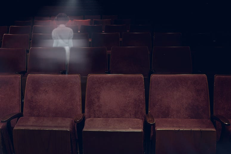 Theater, Seats, Ghost