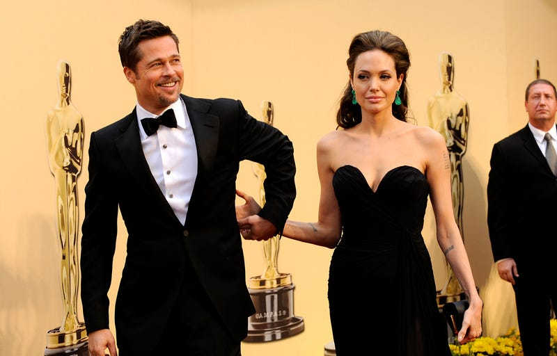 brad pitt and angelina jolie at 2009 oscar awards