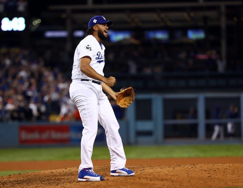 Kenley Jansen helped the Dodgers to reach the World Series in 2017 and 2018.