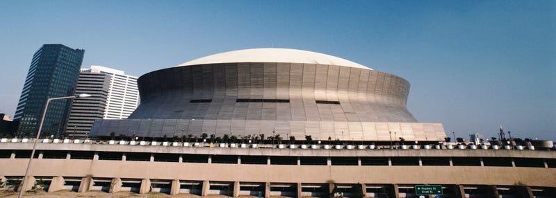 the superdome stadium in new orleans nola louisiana