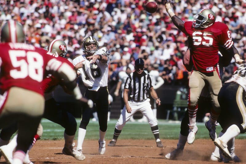 ken stabler throws ball