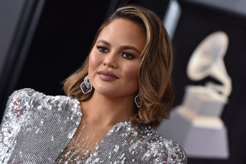 Chrissy Teigen attends the 60th Annual GRAMMY Awards at Madison Square Garden