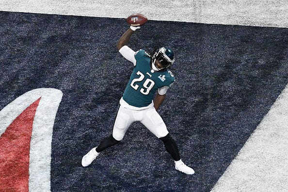 LeGarrette Blount: Duce would be a great leader for Eagles