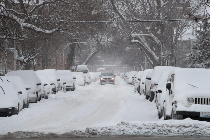 Foot of snow possible as forecasters warn of 'difficult to impossible' travel on President's Day