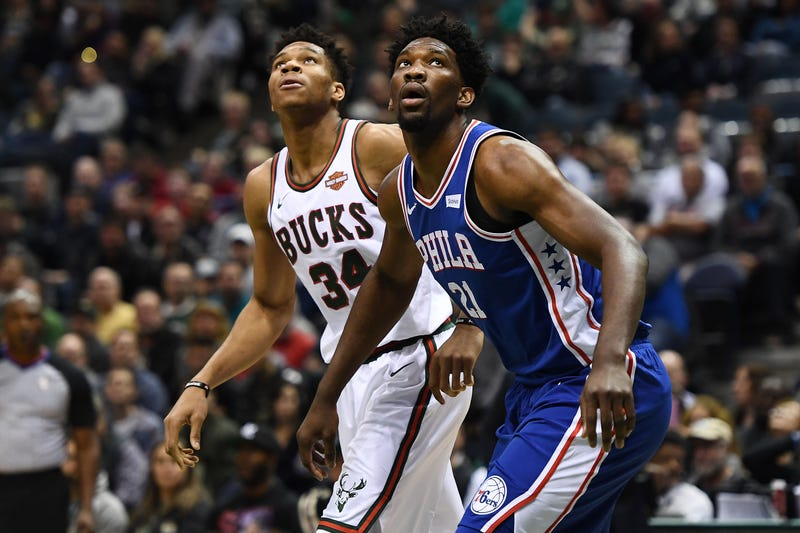 Giannis Antetokounmpo and Joel Embiid will meet on Christmas.