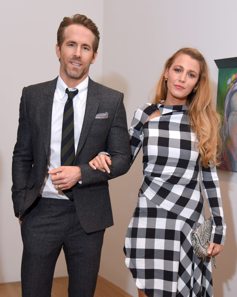 ryan reynolds and blake lively at Final Portrait New York Screening After Party at Levy Gorvy Gallery on March 22, 2018