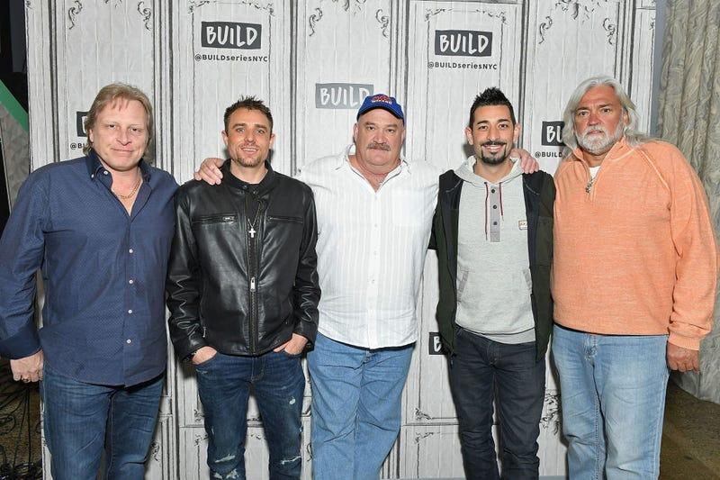 "Sig Hansen, Jake Anderson, Keith Colburn, Josh Harris, and Wild Bill of ""Deadliest Catch' in 2018"