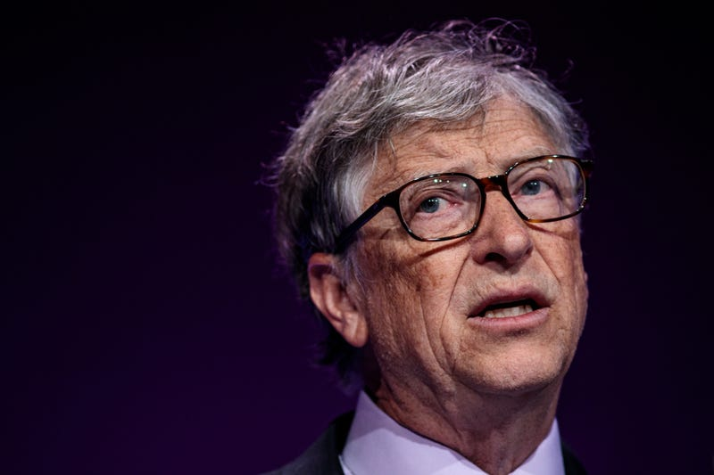 bill gates with weary expression on his face