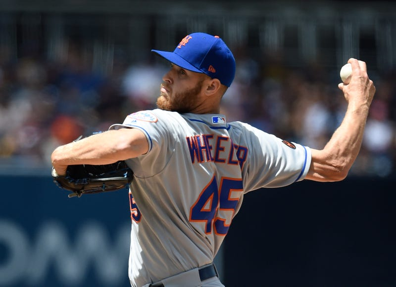 Zack Wheeler has spent his entire career with the Mets.
