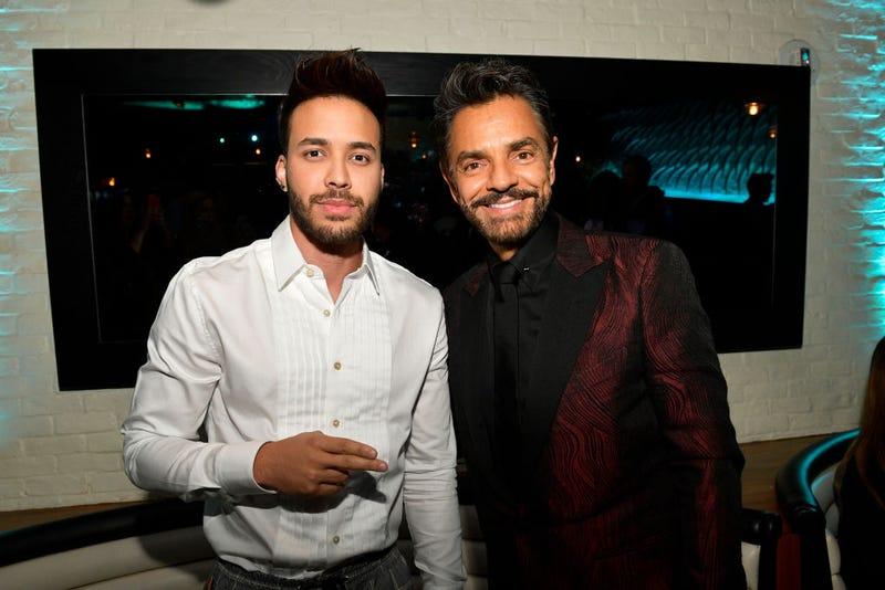 Prince Royce y Eugenio Derbez