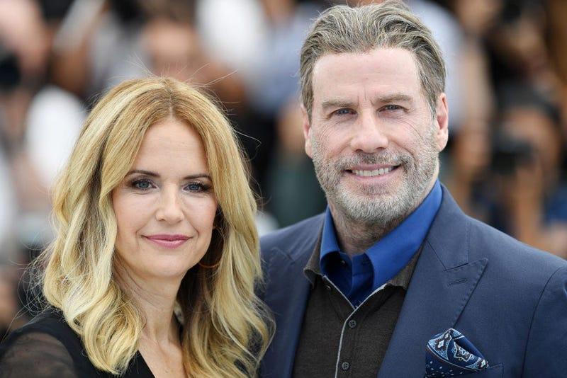 Kelly Preston and John Travolta