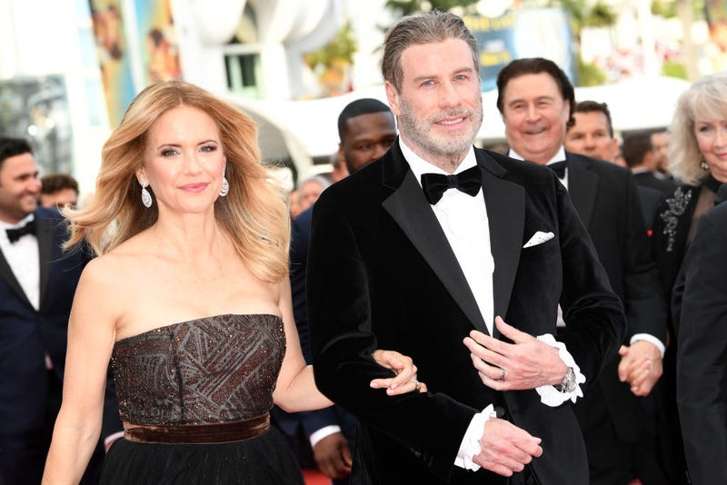 Kelly Preston and John Travolta in 2018