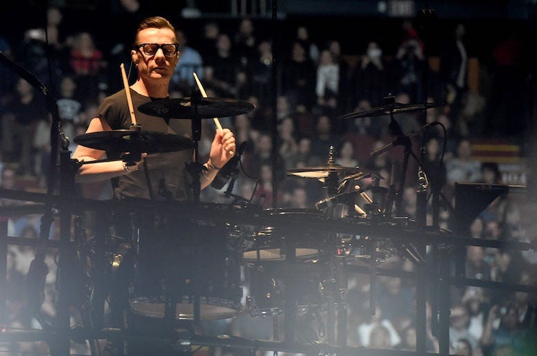 Larry Mullen Jr. of U2