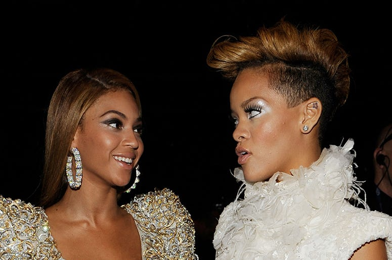 Beyoncé and Rihanna