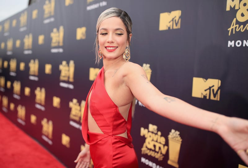 halsey at the 2018 mtv movie awards