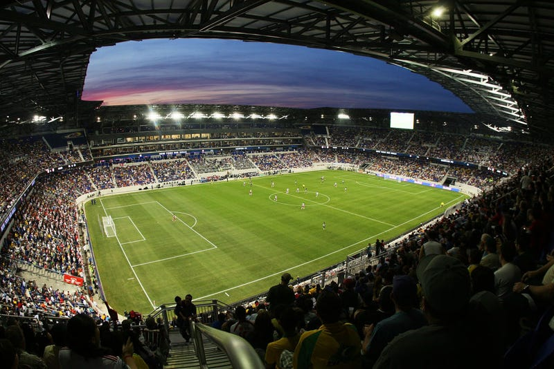 A general view of the field at Red Bull Arena in Harrison, New Jersey