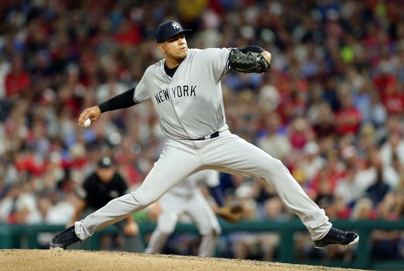 Dellin Betances would upgrade the Phillies bullpen.