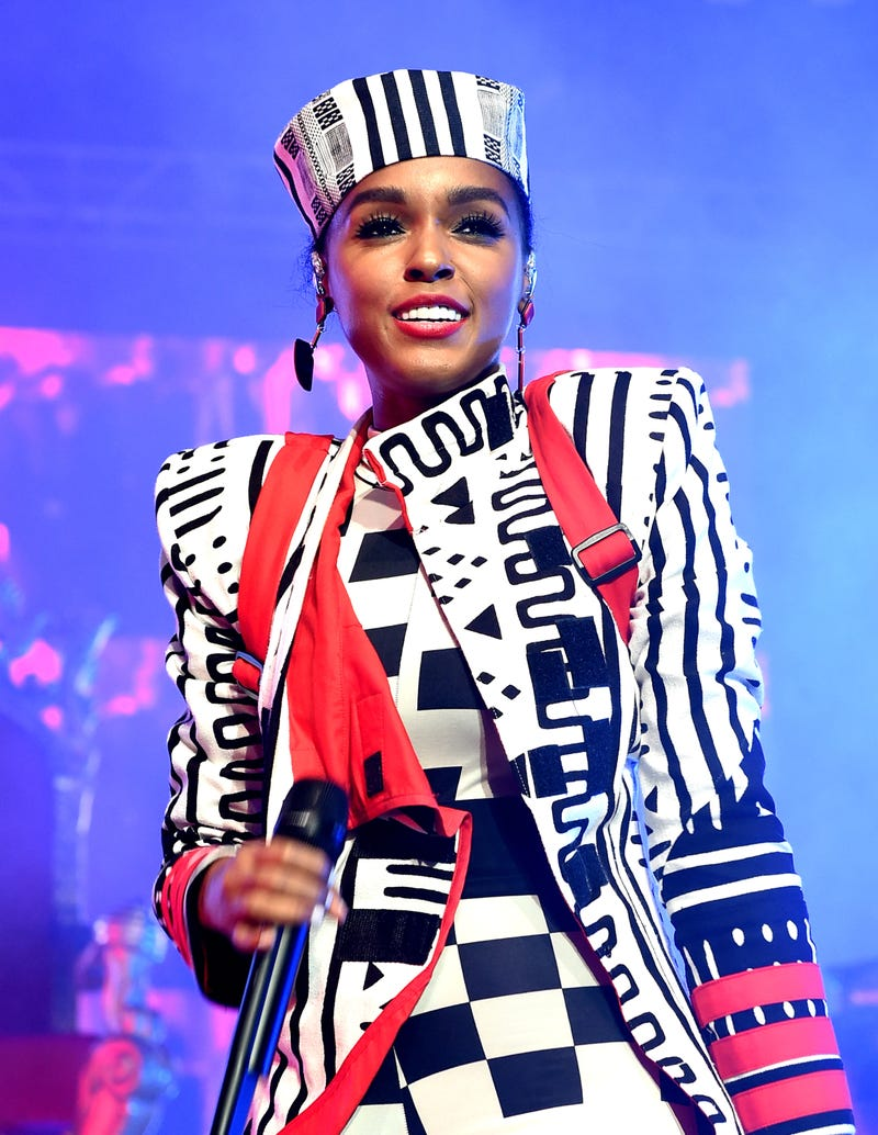 Janelle Monae performs at the Greek Theatre on June 28, 2018 in Los Angeles, California.