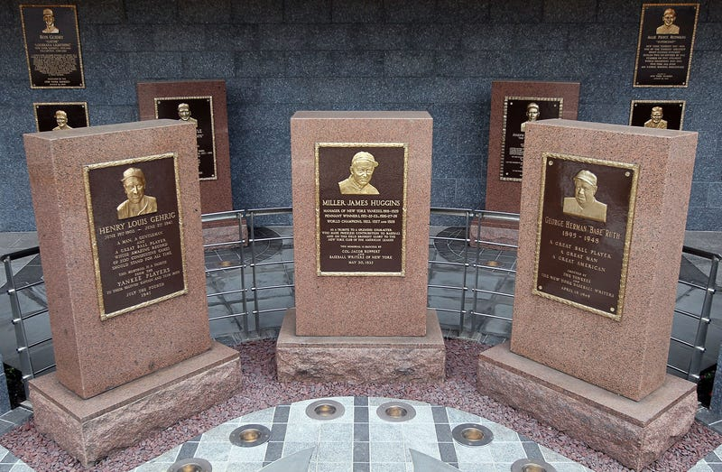 Lou Gehrig, Babe Ruth Plaques