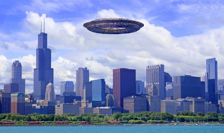UFO over Chicago.
