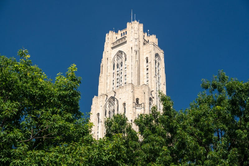 Cathedral of Learning building at the University of Pittsburgh