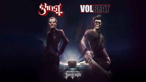 The Rock presents Ghost & Volbeat