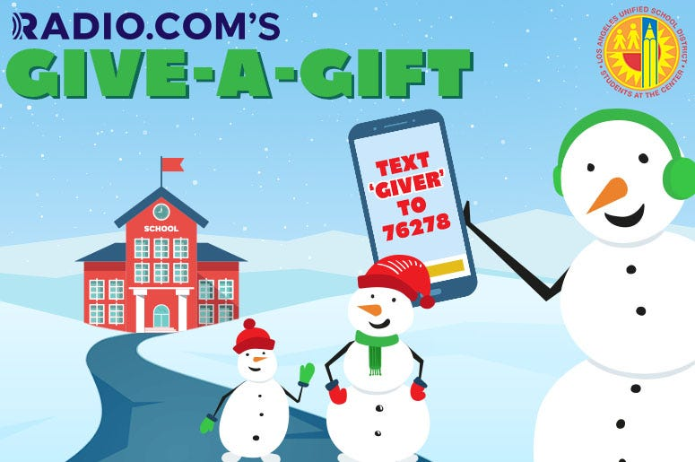 RADIO.COM's Give a Gift