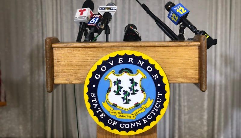 Governor's podium