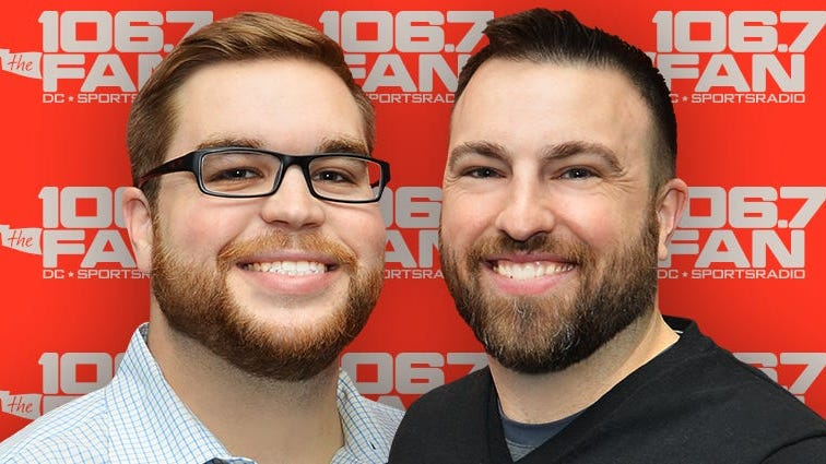Grant & Danny Move To Afternoon Drive on 106.7 The Fan