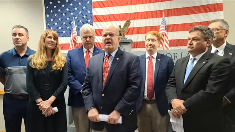 Conservative Grassroots Leaders announce endorsements for Lindsey Graham at Greenville Tea Party press conference